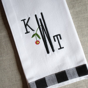Gingham Kitchen Towel