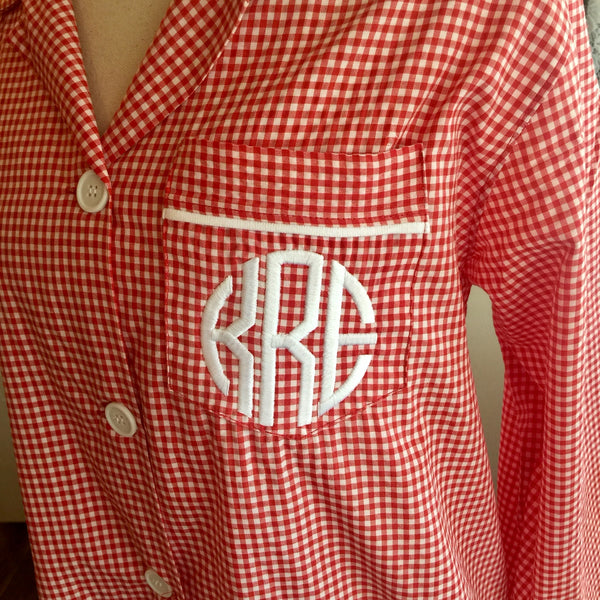Red Gingham Short Sets