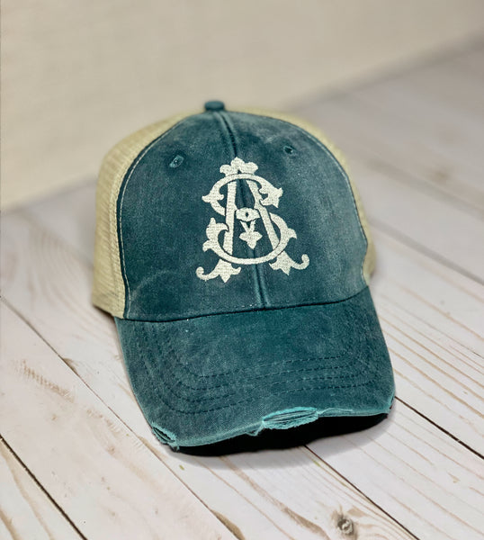 Monogram Trucker Hat