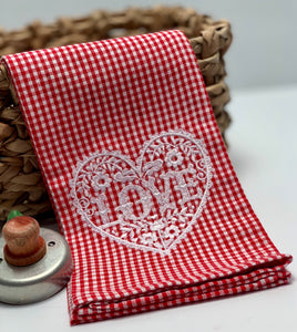 Valentine Kitchen Towel
