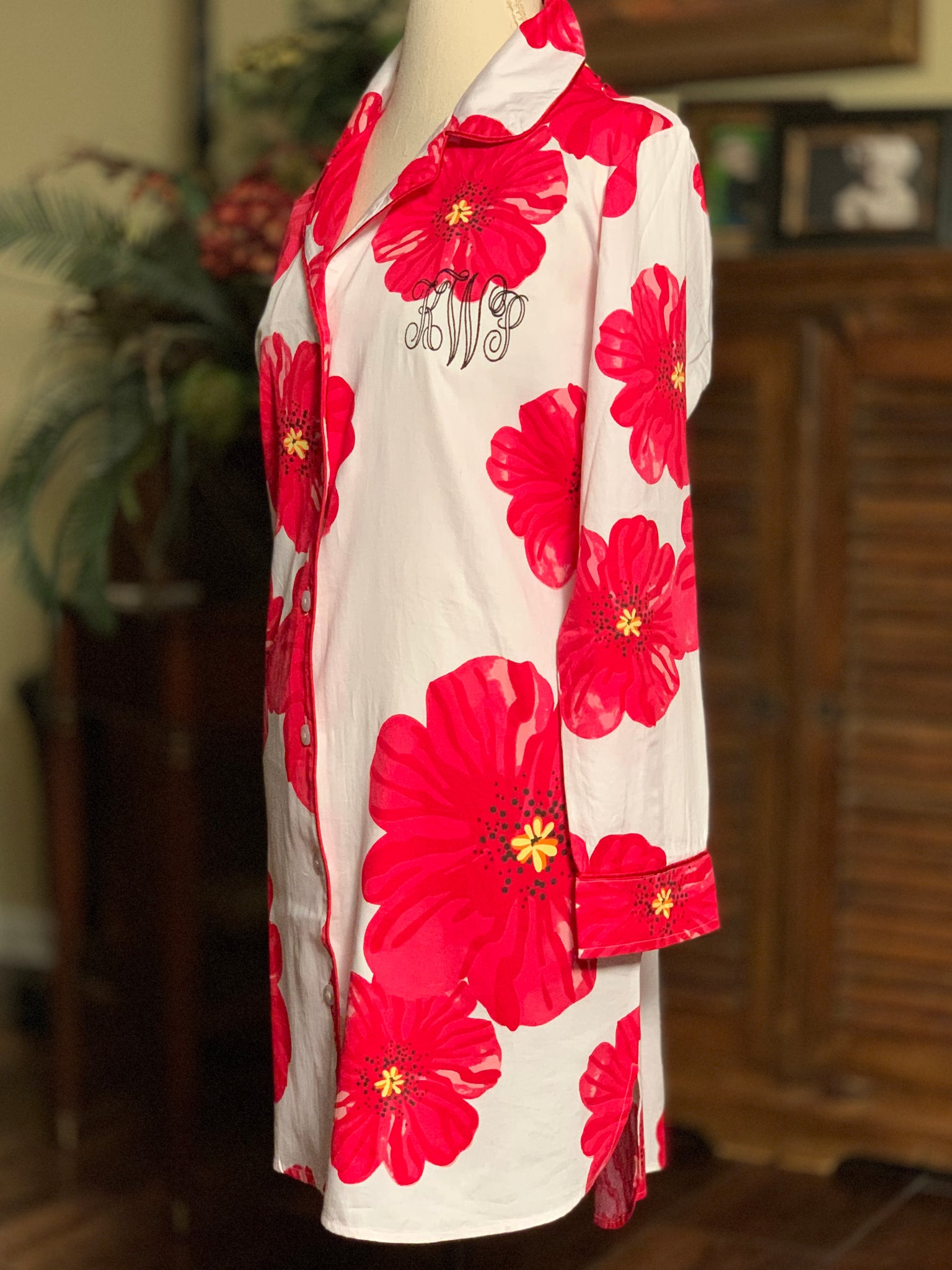 Poppy Sleep Shirt Pajama