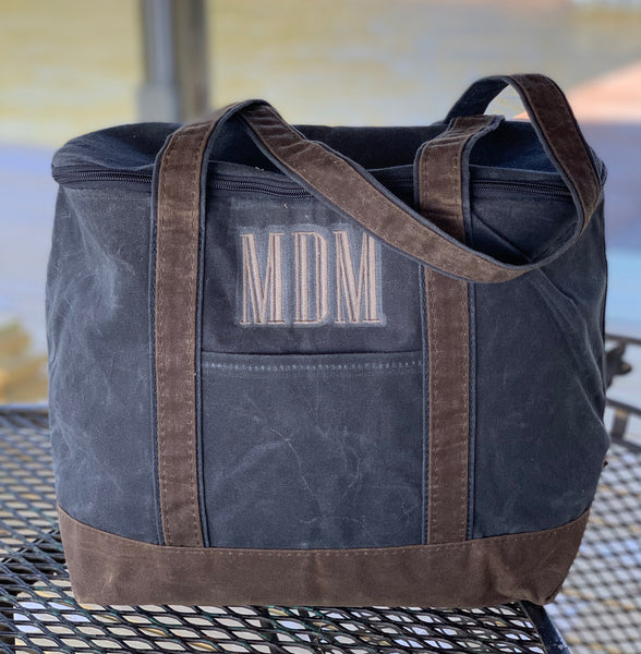 Wax Canvas Insulated Bag