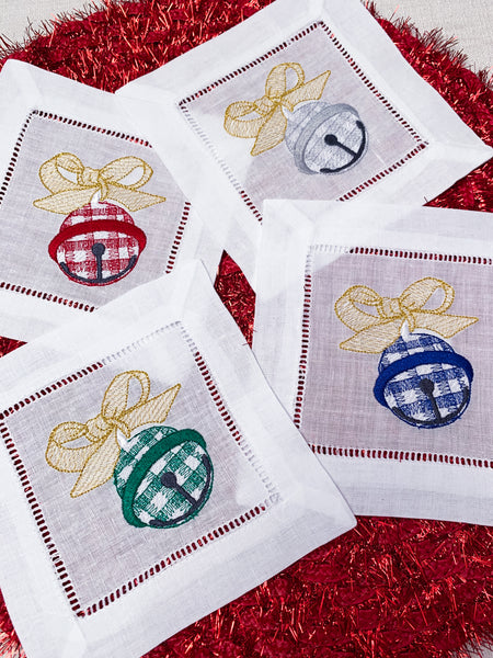 Christmas Bell Cocktail Napkins