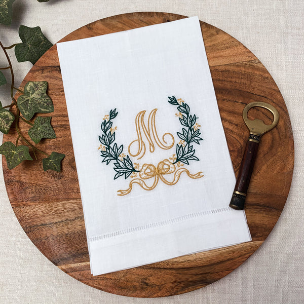 Sweet Wreath Hand Towel