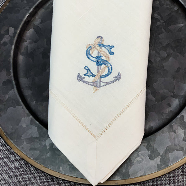 Nautical Dinner Napkins