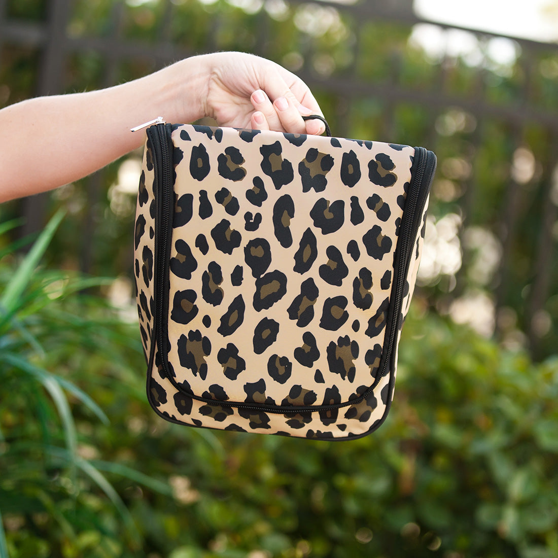 Leopard Travel Toiletry Bag