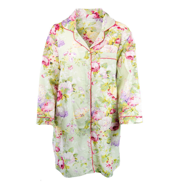 Rose Garden Night Shirt - Green