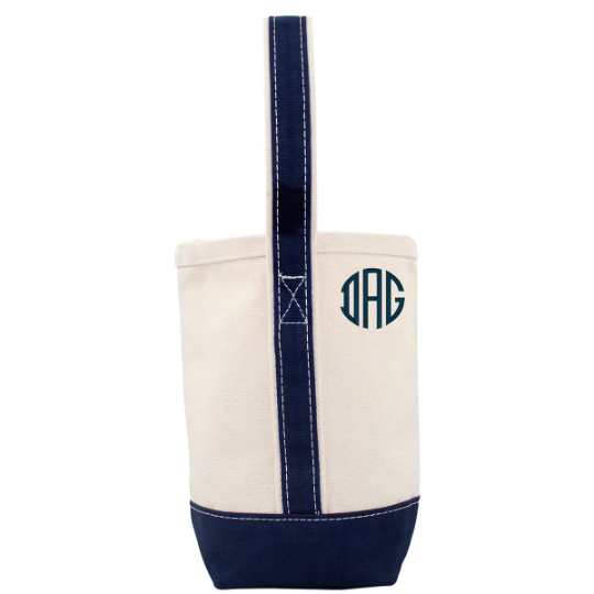 Two Bottle Wine Tote Bag