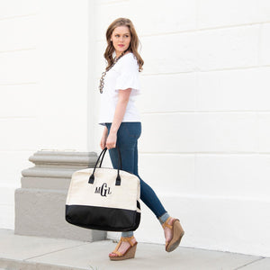 Linen Duffle Bag