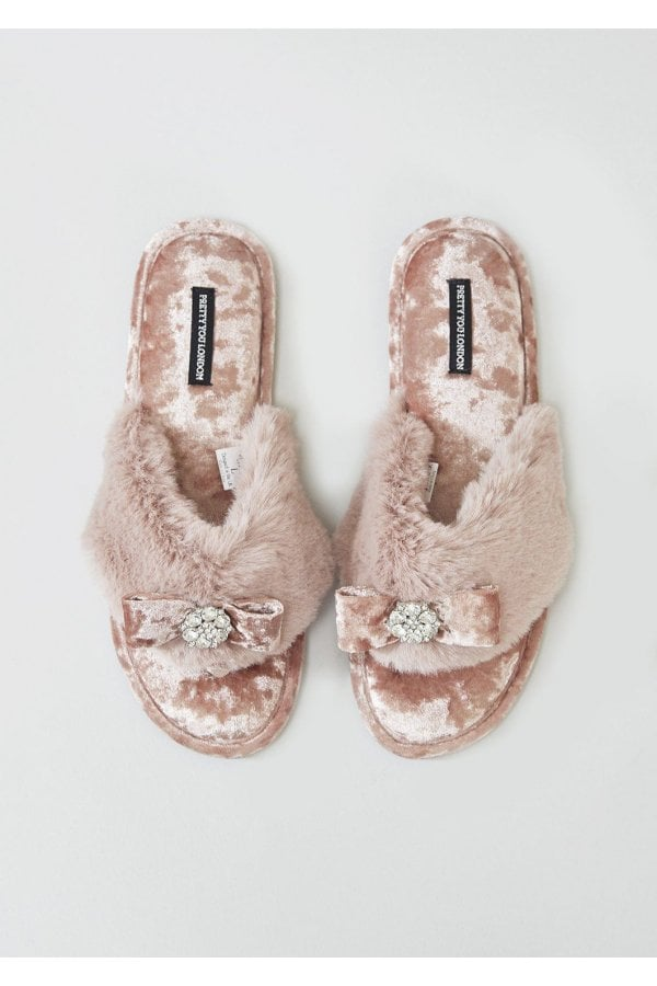 Pretty You Amelie Slippers - pink
