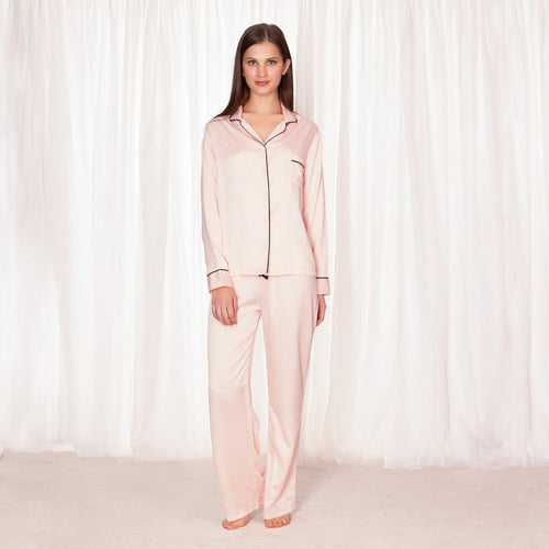 Abigail Pyjama Shirt and Trouser Set