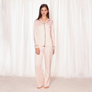 Bluebella Abigail Pyjama Shirt and Trouser Set