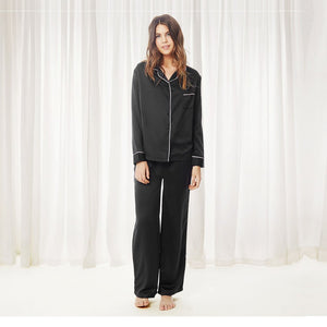 Bluebella Claudia Pyjama Shirt and Trouser Set
