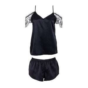 Clemzette top and short pyjama set