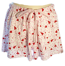 Load image into Gallery viewer, Tallulah  Pink Pink Heart Print Shorts