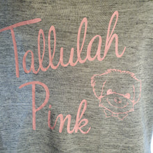 Load image into Gallery viewer, Tallulah Pink Grey T-shirt