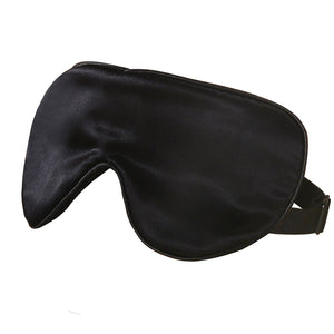 Pure Silk Eyemask - black, ivory or pink