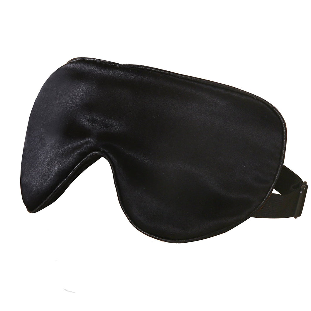 Pure Silk Eyemask black, ivory or pink