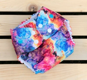 Sea Shells - Quokka Pocket Diaper