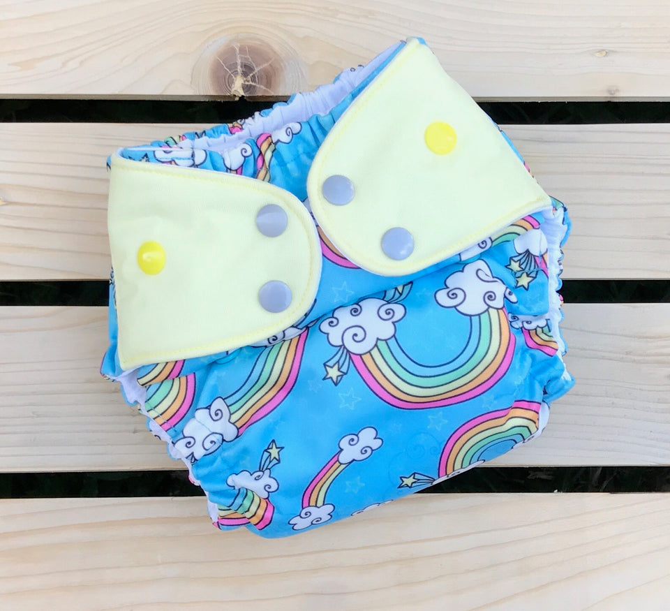 Over the Rainbow - Quokka Pocket Diaper