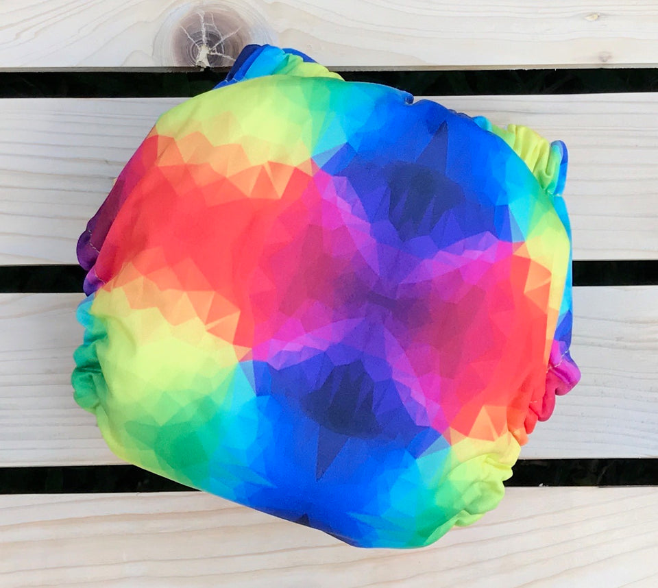 Rainbow Prism - Quokka Pocket Diaper