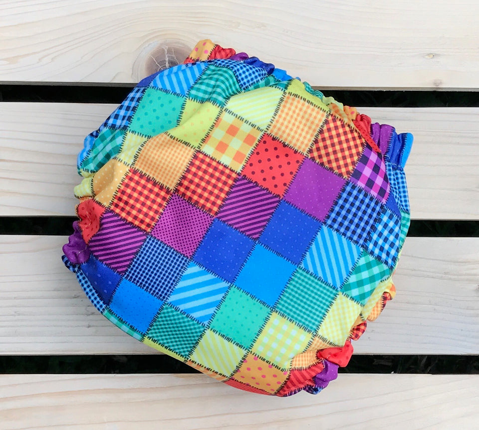 Quilted Rainbow - Quokka Pocket Diaper
