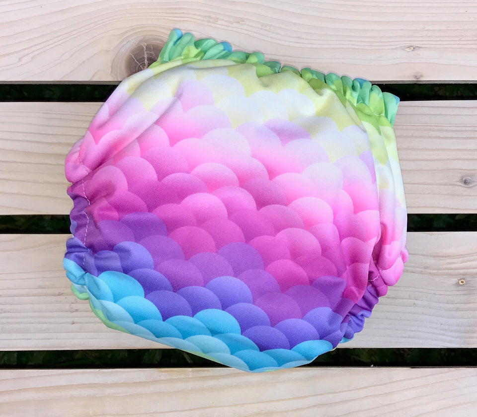Mermaid Scales - Quokka Pocket Diaper