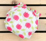 Pink Tulips - Quokka Pocket Diaper