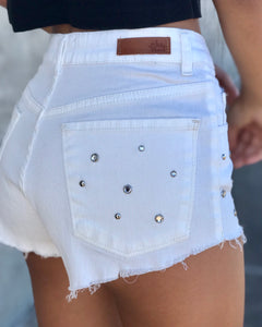 Short Diamonds Blanco
