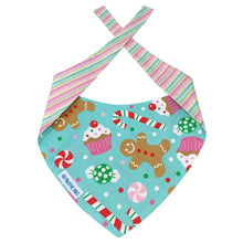 Load image into Gallery viewer, Dog Bandana - Christmas Treats