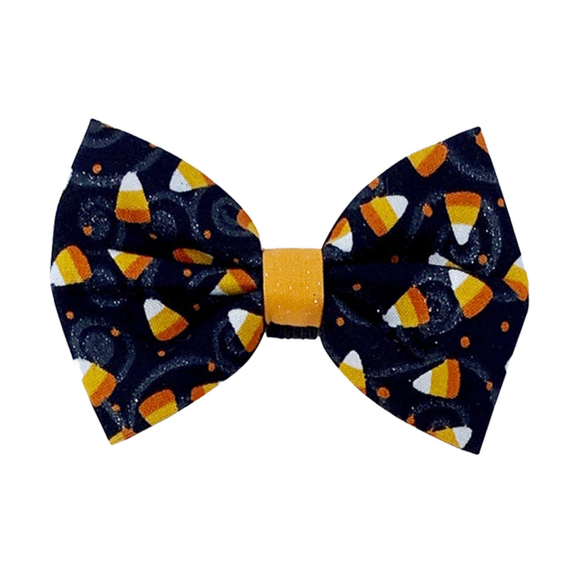 Candy Corn Pet Bow Tie | Halloween Bow Tie for Cats and Dogs