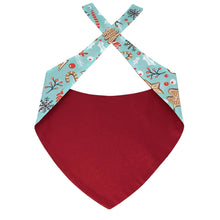 Load image into Gallery viewer, Dog Bandanas for Large Dogs | Gingerbread Bandana for Dogs