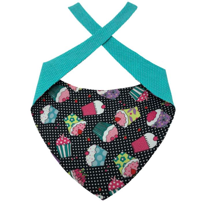 Dog Bandana - Cupcake Time Dog Bandana