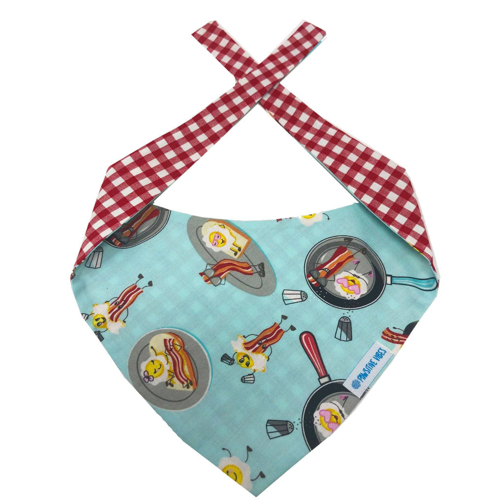 Pet Bandana | Eggs and Bacon Dog Bandana