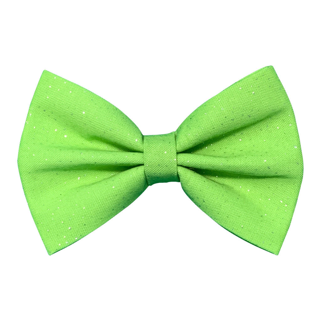 Lime Green Bow Tie For Dogs