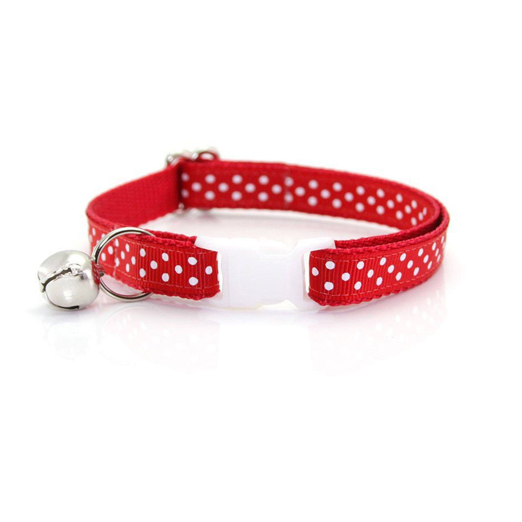 Polka Dot Cat Collar | Birthday Cat Collar