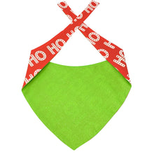 Load image into Gallery viewer, Dog Bandana - Ho Ho Ho Dog Bandana