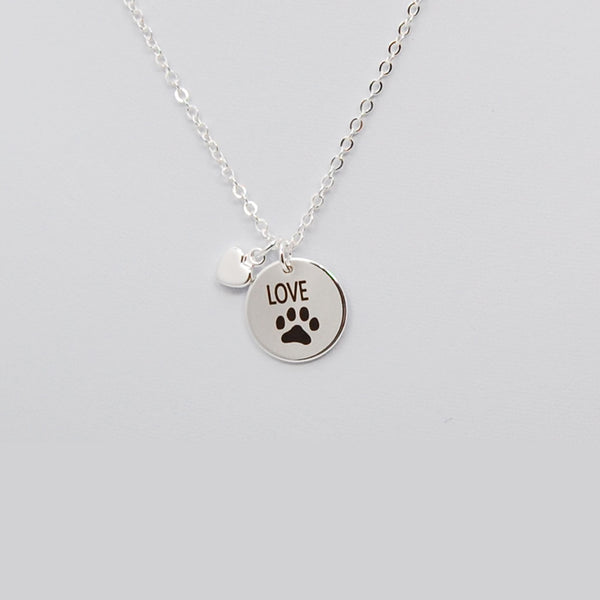 Love Paw Necklace Necklace