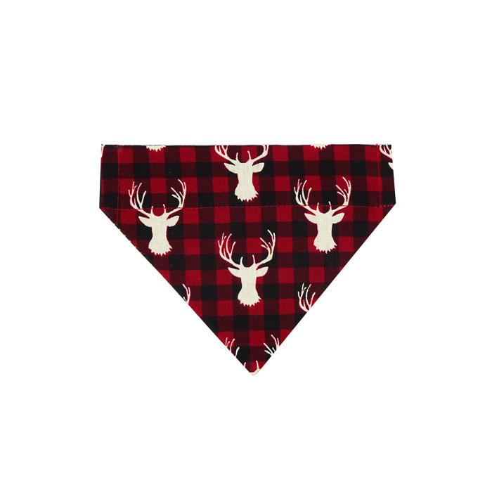 Moose Head Dog Bandana