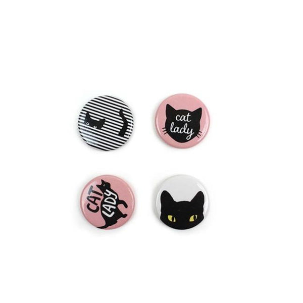 Cat Lady Magnets | Crazy Cat Lady Gifts