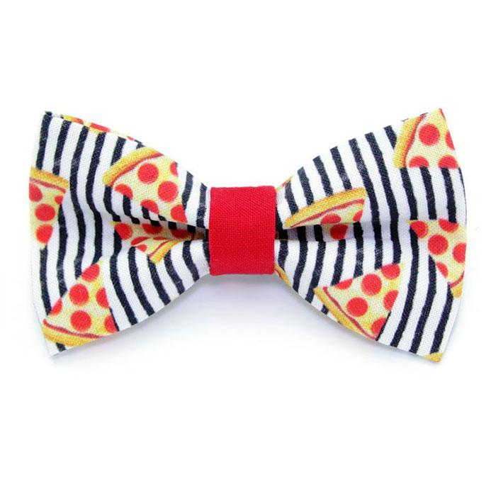Pizza Cat Collar | Cute Bowtie for Cats