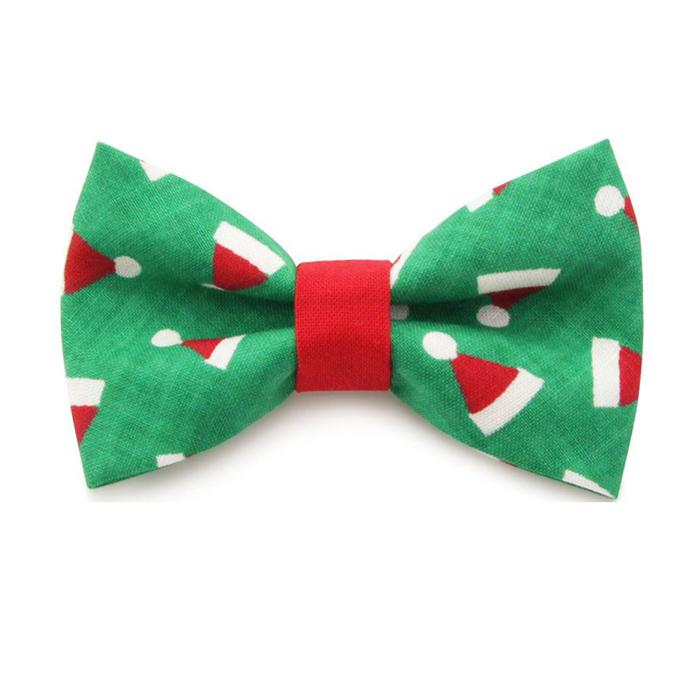 Cat Collar & Bow Tie Set  - Santa Baby - Santa Hats