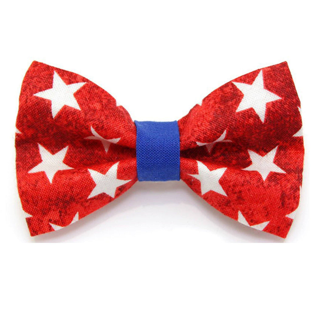 American Flag Bow Tie | Stars and Stripes Bow Tie for Dogs