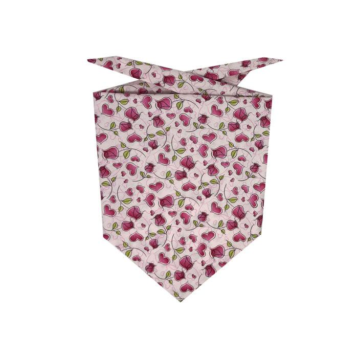 Dog Bandana - Hearts & Roses