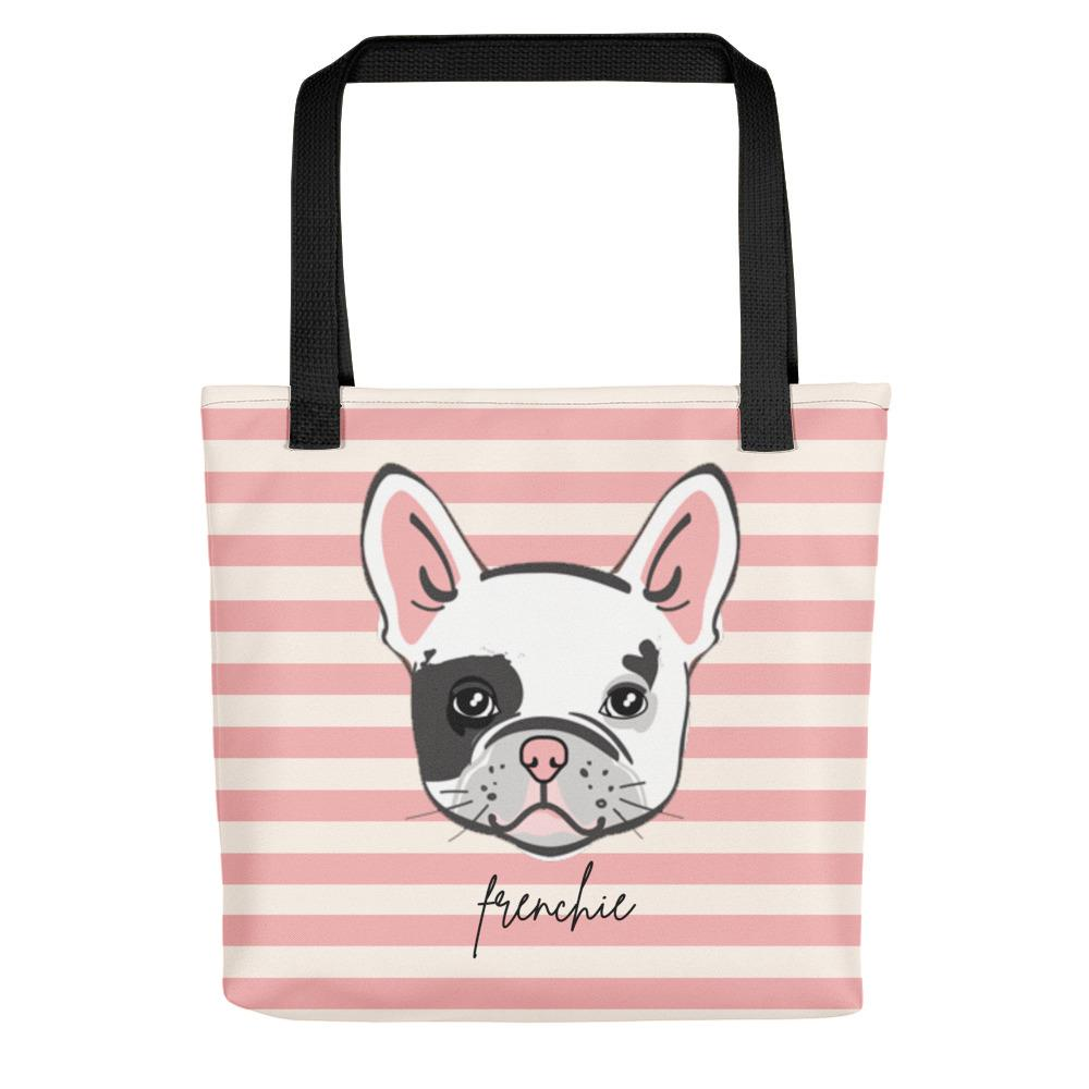 Frenchie Face Tote bag