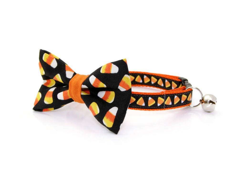 Candy Corn Cat Collar | Fall Cat Collars