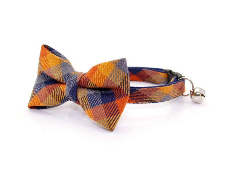 Fall Cat Collar | Plaid Cat Collars