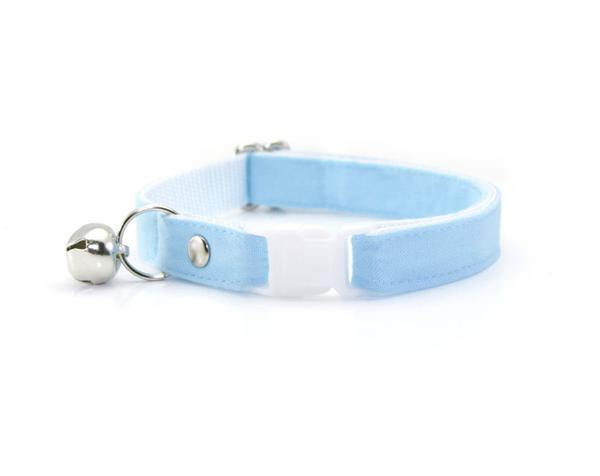 Blue Cat Collar and Bow Tie | Cute Bow Tie for Cats