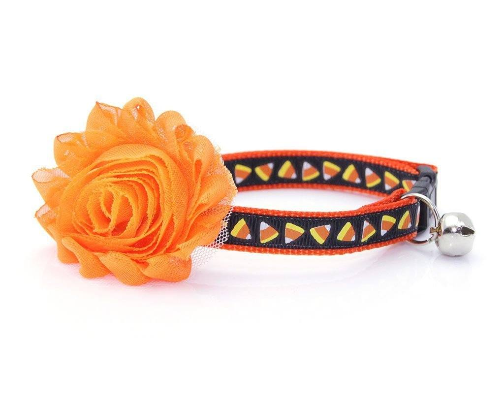 Trick or Treat Candy Corn Collar | Cat Collars