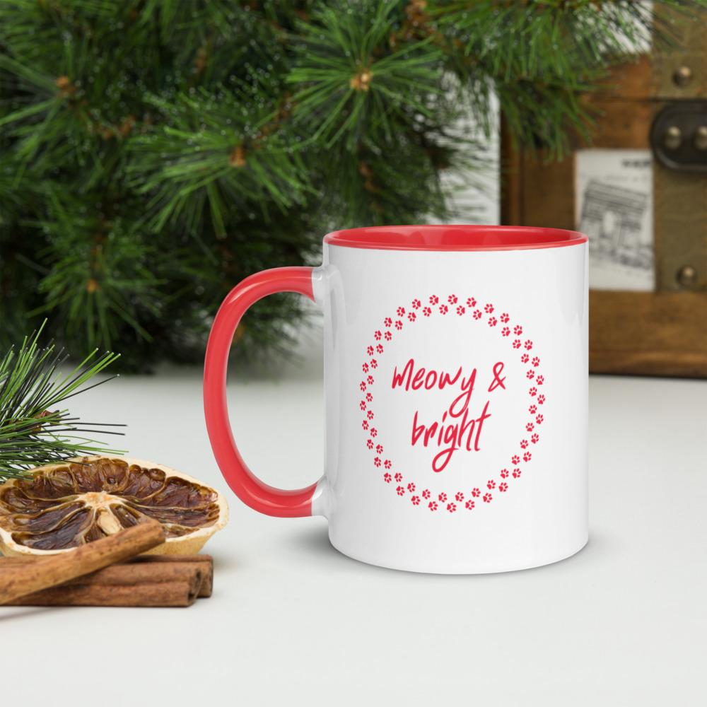 Christmas Mug | Cat Coffee Mug